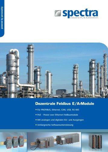 Dezentrale Feldbus E/A-Module - Spectra Computersysteme GmbH