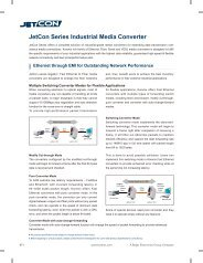 JetCon Series Industrial Media Converter - Korenix