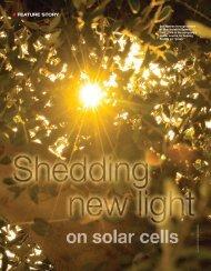 Shedding New Light on Solar Cells - Spectrolab