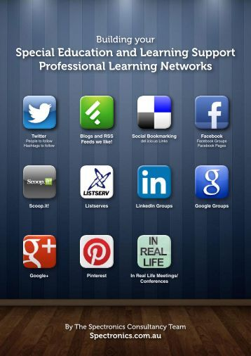 Building your Special Education and Learning Support ... - Spectronics