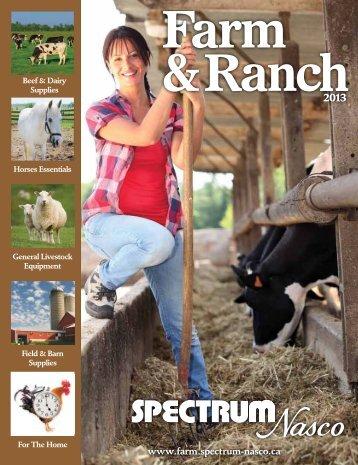 Farm & Ranch Catalogue - SPECTRUM Nasco Shopping Mall ...