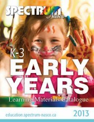 3 Early Years Catalogue
