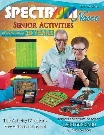 Senior Activities Catalogue
