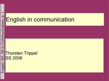 Sociolinguistics (Introduction)