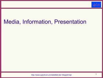 Introductory Presentation in PDF - Computational Linguistics and ...