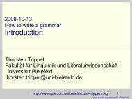Introduction - Computational Linguistics and Spoken Language - U ...