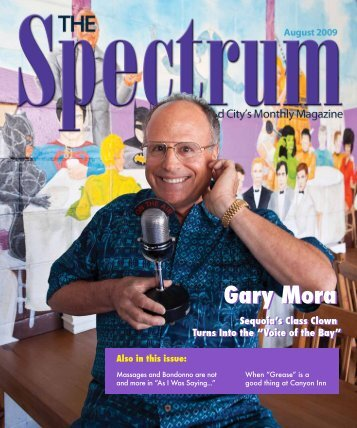 Gary Mora Gary Mora - The Spectrum Magazine - Redwood City's ...