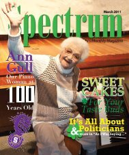 For Your Taste Buds - The Spectrum Magazine - Redwood City's ...