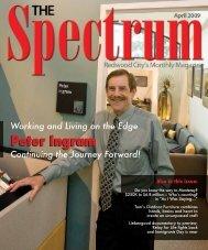 Peter Ingram - The Spectrum Magazine - Redwood City's Monthly ...