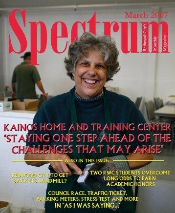 S - The Spectrum Magazine - Redwood City's Monthly Magazine ...
