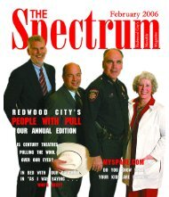 PEOPLE with PULL - The Spectrum Magazine - Redwood City's ...