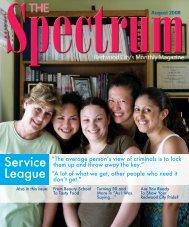Service League - The Spectrum Magazine - Redwood City's Monthly ...