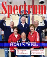 PeoPle with Pull - The Spectrum Magazine
