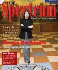 Morgan Marchbanks - The Spectrum Magazine - Redwood City's ...