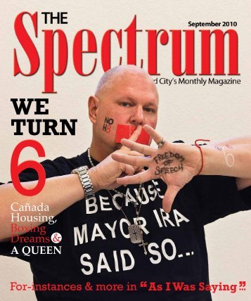 WE TURN - The Spectrum Magazine - Redwood City's Monthly ...