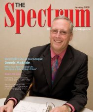 Incorrigibly Out of Our League Dennis McBride - The Spectrum ...