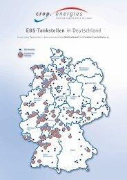 E85-Tankstellen in Deutschland - CropEnergies