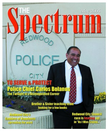 Publisher - The Spectrum Magazine - Redwood City's Monthly ...