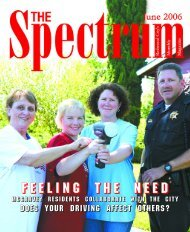 F e e l i n g t h e n e e d - The Spectrum Magazine - Redwood City's ...