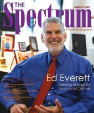 Also in this issue: - The Spectrum Magazine