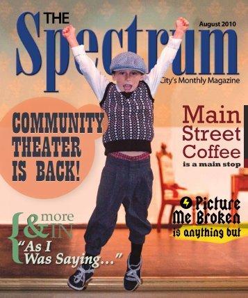Community theater is back! - The Spectrum Magazine - Redwood ...