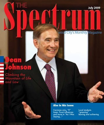 Dean Johnson - The Spectrum Magazine