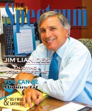 Spectrum June 2013 Issue - The Spectrum Magazine - Redwood ...