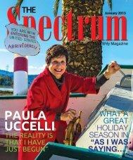 Spectrum - The Spectrum Magazine - Redwood City's Monthly ...