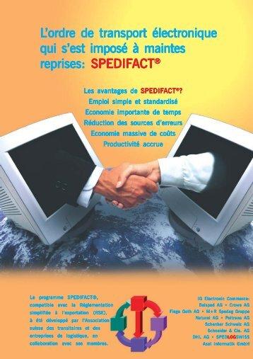 Prospekt Spedifact 8 Seiten Franz.pmd - Spedlogswiss