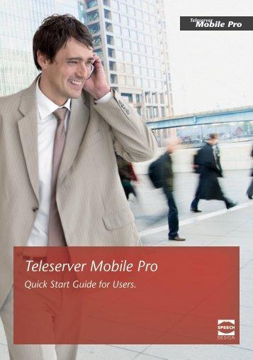 Short User Manual - SPEECH DESIGN