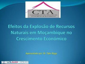 Riqueza de Recursos Naturais e Desempenho Económico