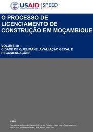 o processo de licenciamento de construção em moçambique