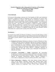Estudo de Diagnóstico sobre a Integração do Comércio em ... - tipmoz
