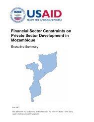 Mozambique financial sector.pdf - Nathan Associates