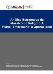 Plano Análise Estra Mozaico do In o Empresarial Análise ... - tipmoz