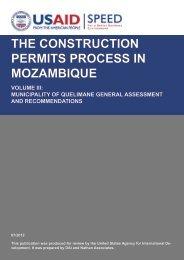 City of Quelimane General Assessment EN - Support Program for ...