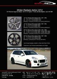 Porsche Cayenne 955, 957, 958 - speedART