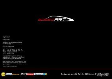 Infos zum Tuning-Programm. - speedArt