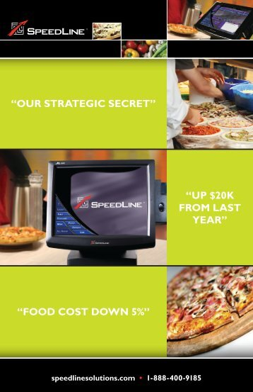 our strategic secret - Speedline Solutions