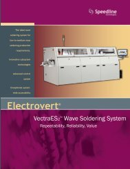 Product Brochure - Speedline Technologies