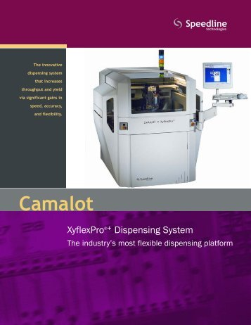 Camalot XyflexPro+ Brochure 2.09.qxp - Speedline Technologies