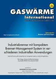 GASWÄRME International - Crone Wärmetechnik GmbH
