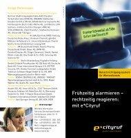 e*Cityruf für Winterdienst