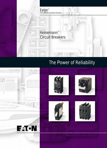 The Power of Reliability - Heinemann Electric Canada Ltd.