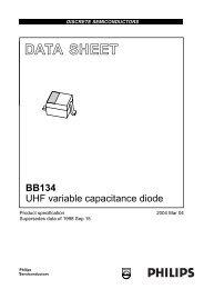 BB134 UHF variable capacitance diode - SP-Elektroniikka