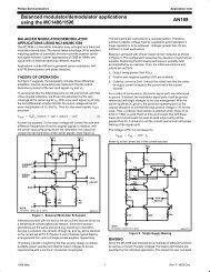AN189 Balanced modulator/demodulator ... - SP-Elektroniikka
