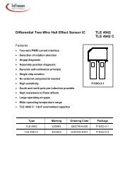 Differential Two-Wire Hall Effect Sensor IC TLE ... - SP-Elektroniikka