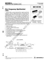 ~ PLL Frequency Synthesizer MC145106 - SP-Elektroniikka