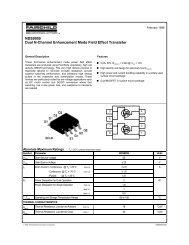 NDS9959 Dual N-Channel Enhancement Mode ... - SP-Elektroniikka