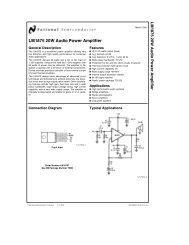 LM1875 20W Audio Power Amplifier - SP-Elektroniikka